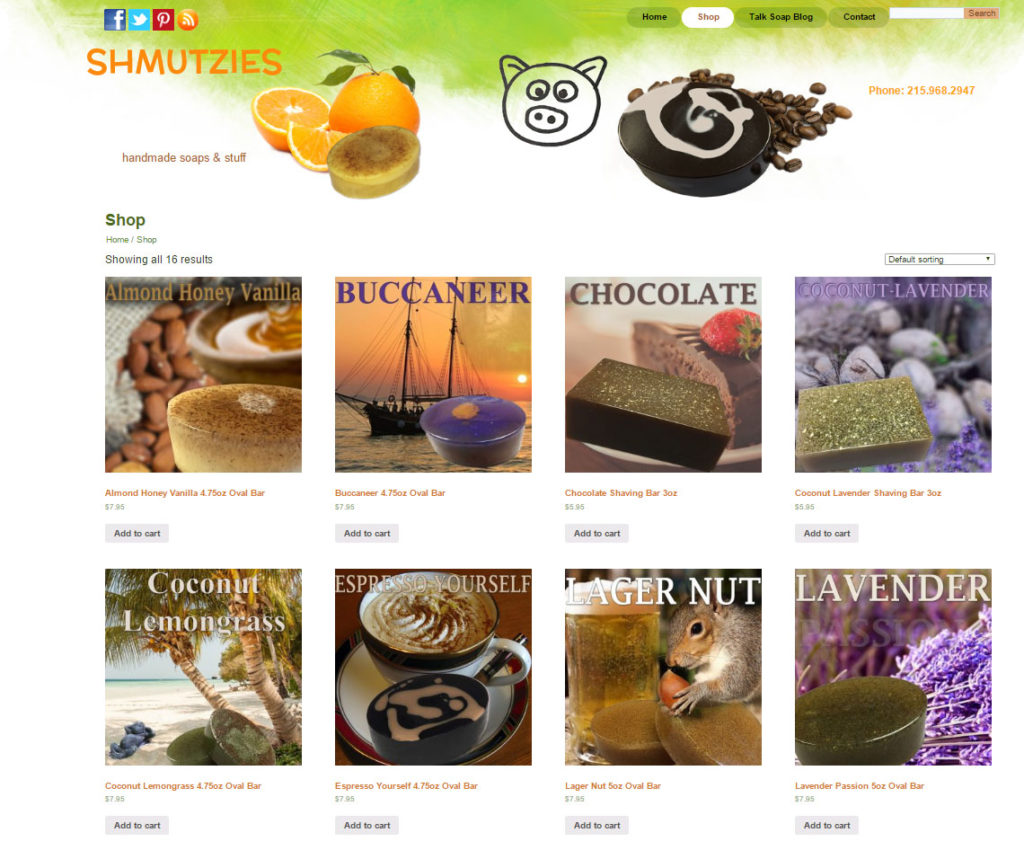 Shmutzies: Homemade soaps & Stuff